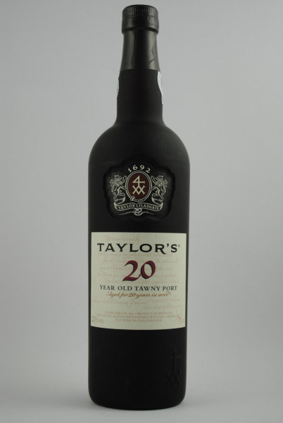 20 years TAWNY PORT, Taylor's