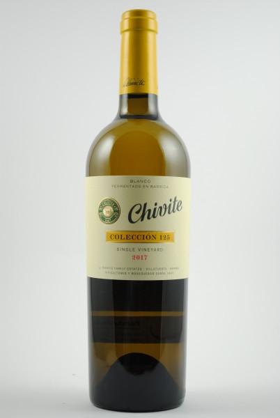 2017 Chivite Chardonnay Colección 125