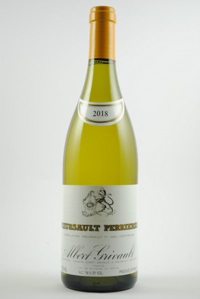 2018 Meursault 1er Cru Perrières, Grivault