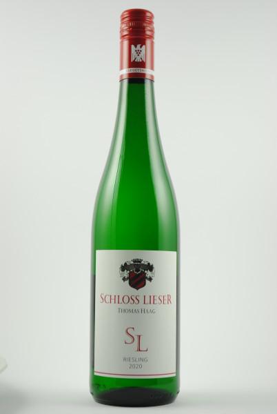 2020 Riesling SL QbA feinherb, Schloss Lieser