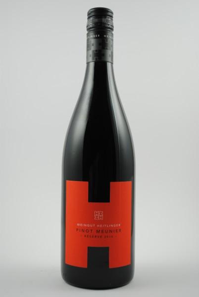 2016 Pinot Meunier Reserve QbA trocken, Heitlinger