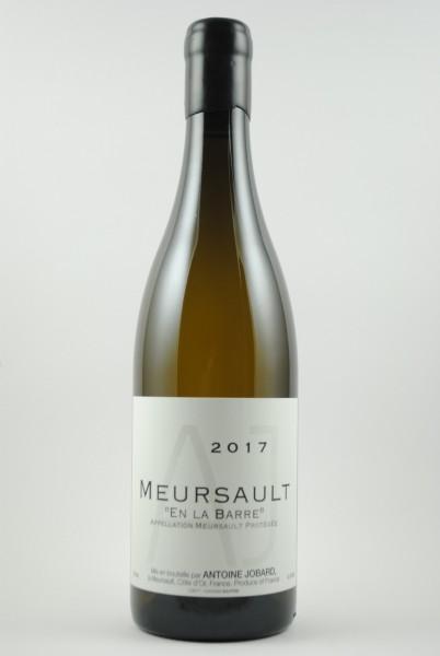 2017 Meursault En La Barre, Jobard
