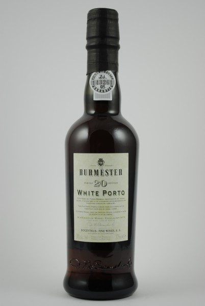 20 Year Old White Port HALBE, Burmester