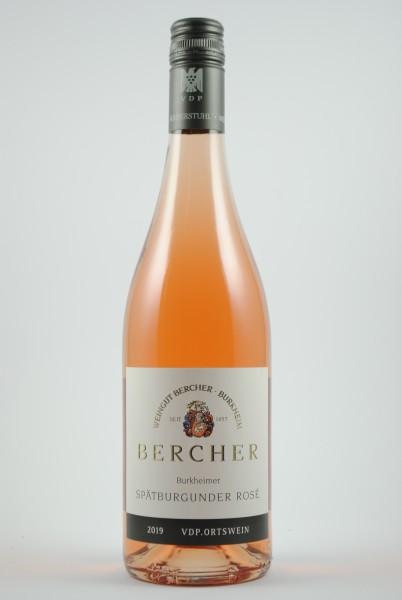 2020 Spätburgunder Rosé QbA trocken, Bercher