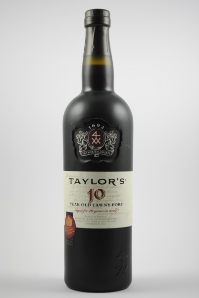 10 years TAWNY PORT, Taylor`s