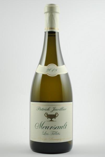 2018 Meursault Les Tillets, Javillier