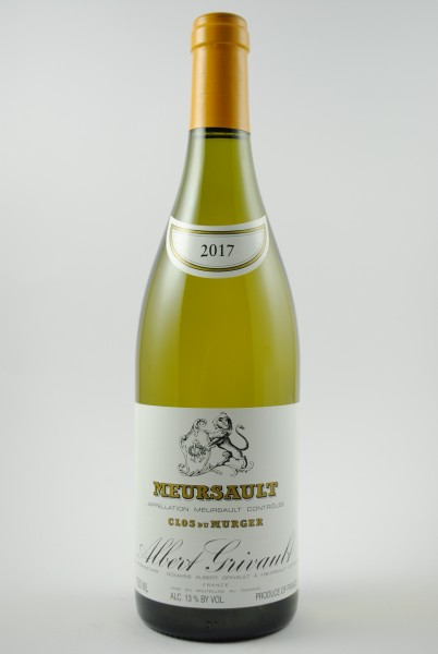 2017 Meursault Clos du Murger, Grivault