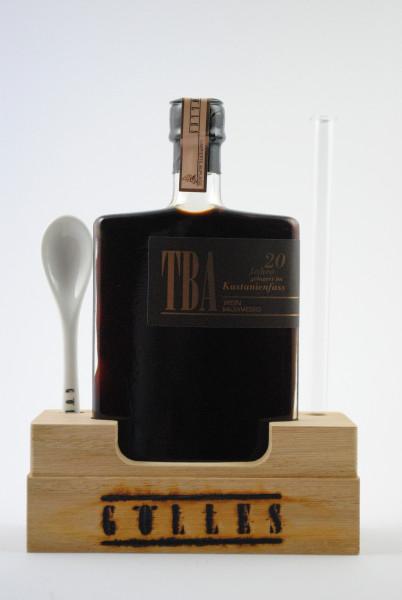 Wein Balsamessig TBA 20 Jahre gelagert im Kastanienfass, Gölles
