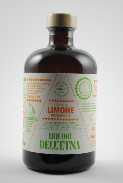 Liquore di Limone Primofiore - Limettenlikör aus Sizilien