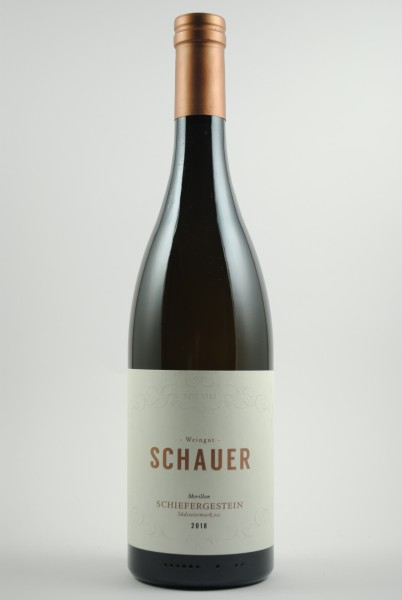 2018 Morillon Schiefergestein, Schauer