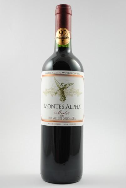 2015 Merlot, Montes Alpha