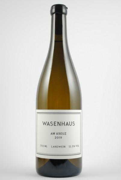 2019 Weissburgunder Am Kreuz Landwein trocken, Wasenhaus