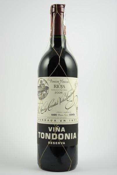 2006 VIÑA TONDONIA Reserva