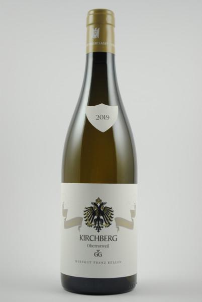 2019 Chardonnay Grosses Gewächs Kirchberg QbA trocken, Keller