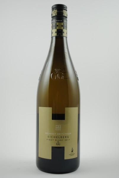 2017 Pinot Blanc Grosses Gewächs Eichelberg QbA trocken, Heitlinger